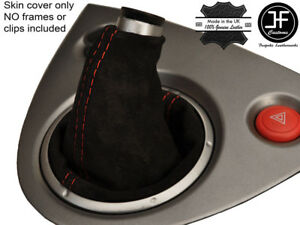Red Stitch Real Suede Shift Boot Fits Honda Civic Ep3 Type R 2001 2005