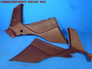 Porsche 944 951 Turbo Rear Inner Interior Side Quarter Panel Speaker Cover Pair
