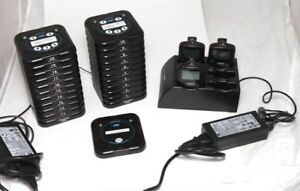Hme Wireless Restaurant Paging System For Up To 20 Tables 3 Pagers Chargers
