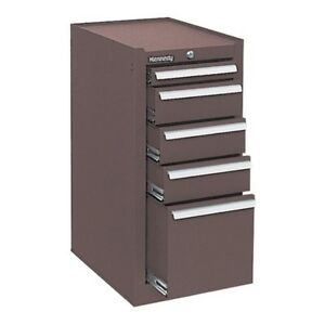 185b 5 Drawer Hang on Cabinet Mfr 185 Brown Color Brown