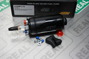 Aem 400lph Metric Inline High Flow High Pressure Fuel Pump 044 Style 50 1009