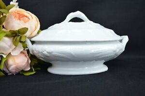 White Ironstone Edward Pearson Cobridge Tureen Casserole