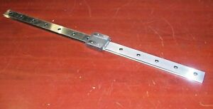 Thk Linear Motion 21 Guide Rail W Thk Hrw14 Lrm Bearing Slide Block