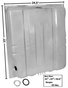 1972 73 Charger Coronet Roadrunner Gas Tank 20 Gallon W 4 Vent Pipes New