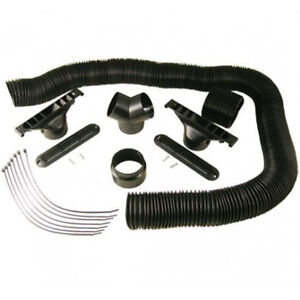 Maradyne Mfa128 Defrost Kit W 3 Flex Duct For Mm A1090002 Stoker Cab Heater