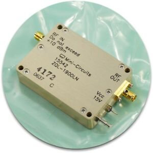 New Mini circuits Zql 1900ln Low Noise Amplifier 1850 1910 Mhz
