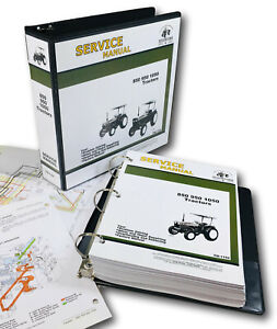 Service Manual For John Deere 850 950 1050 Tractor Technical Repair Shop Book