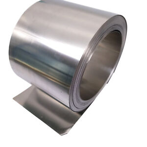 Us Stock 0 15mm X 100mm X 2000mm 304 Stainless Steel Fine Plate Sheet Foil