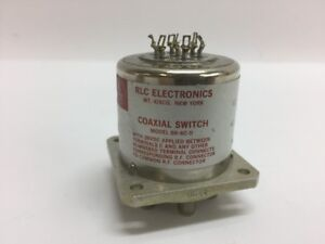 Rlc Electronics Inc Coaxial Switch Sr 6c d Radio Frequency Transmission Line
