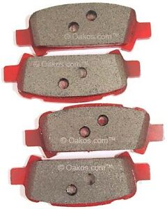 Carbotech Rear Brake Pads Ax6 For 13 16 Subaru Brz Fr S Part Ct1124 Ax6