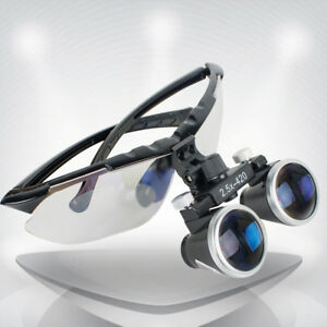 Denshine Dentist Dental 2 5x Loupes Surgical Binocular Glass Medical Magnifier