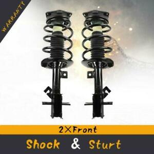 Quick Complete Struts Assembly Gas Shocks Front Pair For 2007 2012 Nissan Sentra