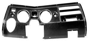 1969 Chevrolet Chevelle El Camino Dash Bezel W Ac Instrument Carrier New