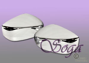 For 2009 2014 Nissan Murano 2013 2015 Pathfinder Chrome Side Mirror Covers Cover