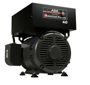 Phase Converter Extreme Duty Adx40f 40 Hp Floor Digital Smart Series Usa Made