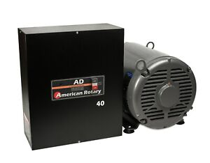 Heavy Duty Rotary Phase Converter Ad40 40 Hp Digital Controls Cnc Made In Usa