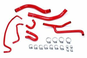 Hps Red Radiator And Heater Hose Kit Coolant 2015 2016 Ford Mustang 3 7l V6