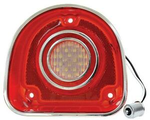 1968 Chevrolet Impala Back Up Light Red Clear With Trim 68