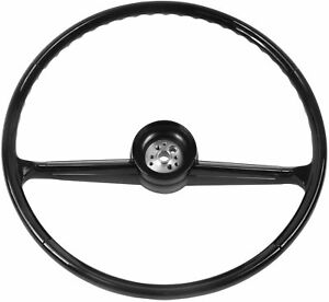 1960 66 Chevrolet Pickup Truck Steering Wheel Black 60 66