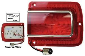 1965 Chevelle Led Tail Lamp Lens Rh 65