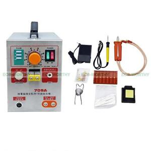 709a 60a 2 In 1 Battery Spot Welder Weld Mobile Welding Pen Soldering Iron Lab