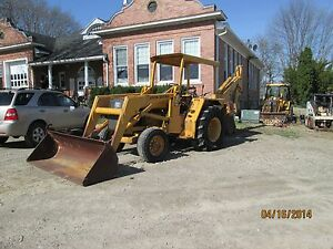 Loader Bucket Cylinder At33028 For A John Deere 410 Backhoe