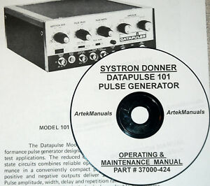 Systron donner Datapulse 101 Operating Service Manual