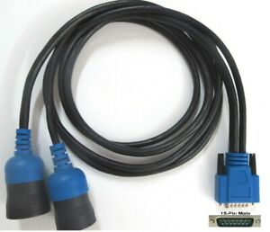 6 9 Pin Y Deutsch Cable For Mahle Techpro Vds1000 Hd Diagnostic System Interface