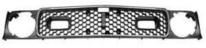 1971 72 Ford Mustang Grille W Molding Mach 1 New