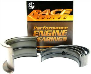 Acl 5m909h Sbc Small Block Chevy 350 383 Race Engine Main Bearings Std Size