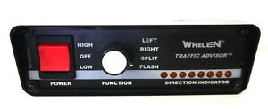 Whelen Traffic Advisor Control Head Model Tactl1a With Brackets Rear Connect