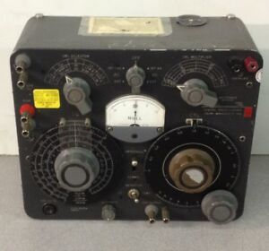 General Radio Company 1650 a Impedence Bridge