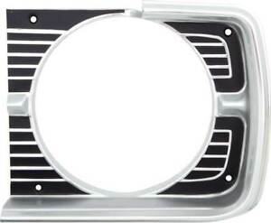 1968 Dodge Dart Headlamp Bezel Lh