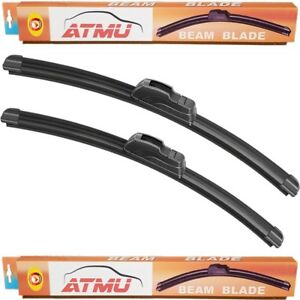 05 15 Toyota Tacoma 22 21 Windshield Wiper Blades Set Frameless All Season