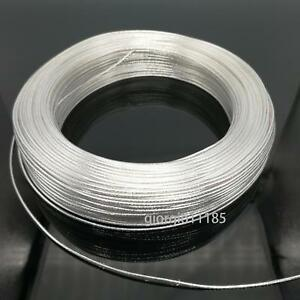 Us Stock 20 Feet 18 Awg High Temperature Teflon Ptfe Silver Plated Wire 0 75mm2