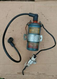 Vintage Mercedes Benz Factory Bosch Ignition Coil Ignitor 0221122001 0227901013