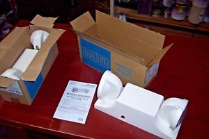Qty 2 Dual lite Ez 2 Emergency Light New In Boxes