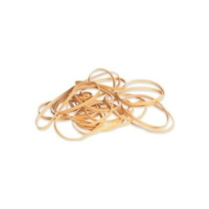 thornton s Rubber Bands 1 4 X 3 1 2 Brown 10 Lbs