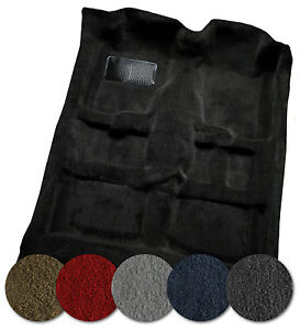 1969 1970 Ford Mustang Fastback Carpet W Folddowns Any Color