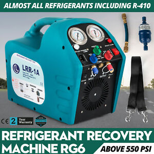 Robinair Rg6 Refrigerant Recovery Machine Pipe Fitting Power Lead