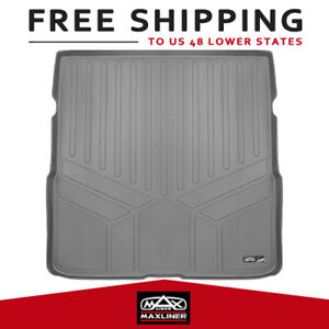 All Weather Cargo Liners Behind 2nd Row Gray Custom Fit 16 17 Honda Pilot