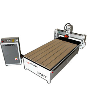 Laguna Tools 5x10 Swift Cnc Machine Industrial Cnc Router Nested Based Cnc