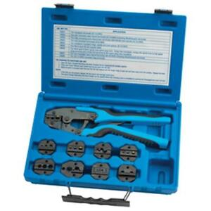 S G Tool Aid Ta18980 Master Ratcheting Terminal Crimper Set