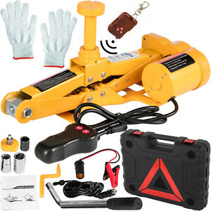 3 Ton Automotive Electric Scissor Car Jack Lift Repair Power Vehicle