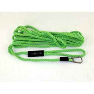 Soft Lines PSW10840LIMEGREEN Floating Dog Swim Snap Leashes 0.5 In. Diameter ... $58.28