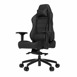 Vertagear Gaming Chair Carbon Industrial Heavy Duty Metal Base Black Furniture
