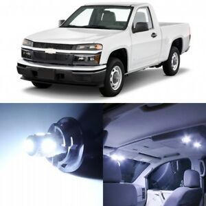 12 X Xenon White Interior Led Lights Package For 2004 2012 Chevy Colorado Tool