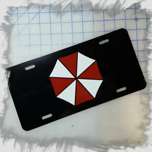 Umbrella Corporation Logo Custom License Plate Car Tag