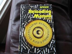 Speer Reloading Manual Number 11 - Lewiston Idaho Rifle and Pistol Cartridges BE