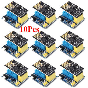 10pcs Esp8266 Dht11 Temperature And Humidity Wifi Module Wireless Module Esp 01